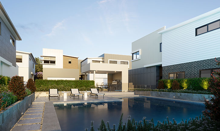 Brisbane Townhouses Pool