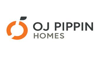 OJ Pippin Homes Logo