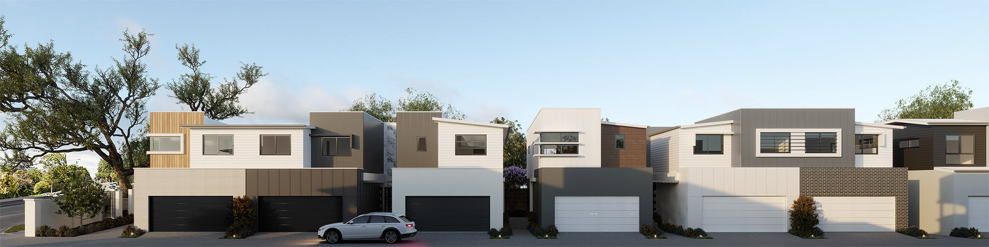 Brisbane Townhouses 4 bedroom Evoke McDowall