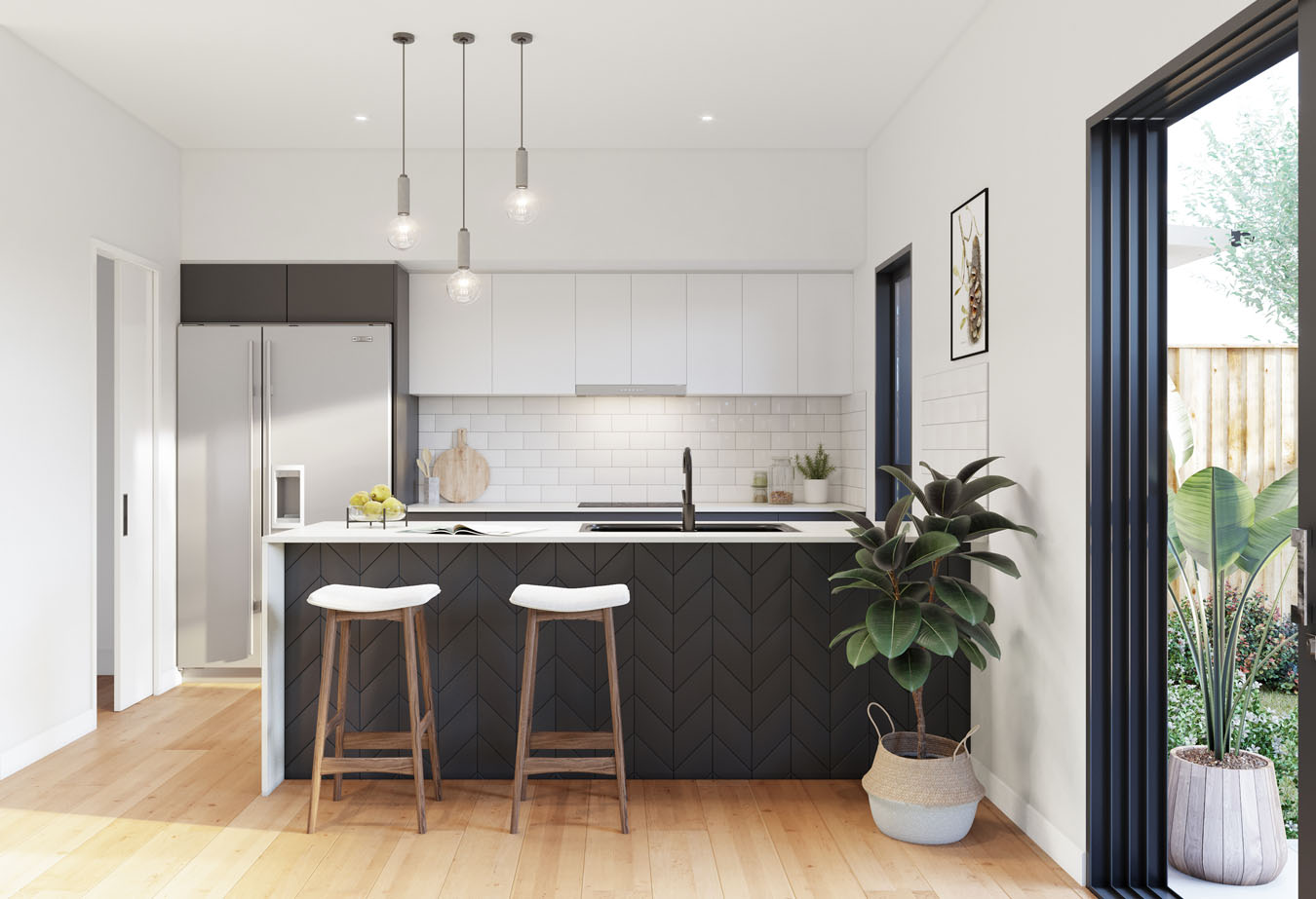 Brisbane Townhouse 4 Bedroom Evoke McDowall - kitchen