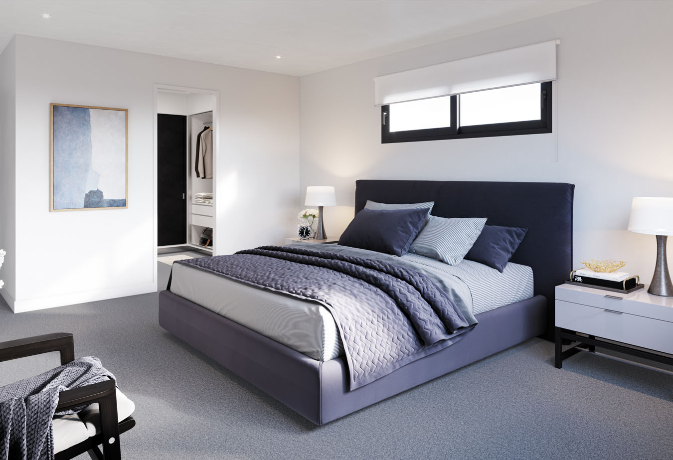 Brisbane Townhouse 4 Bedroom Evoke McDowall - master bedroom