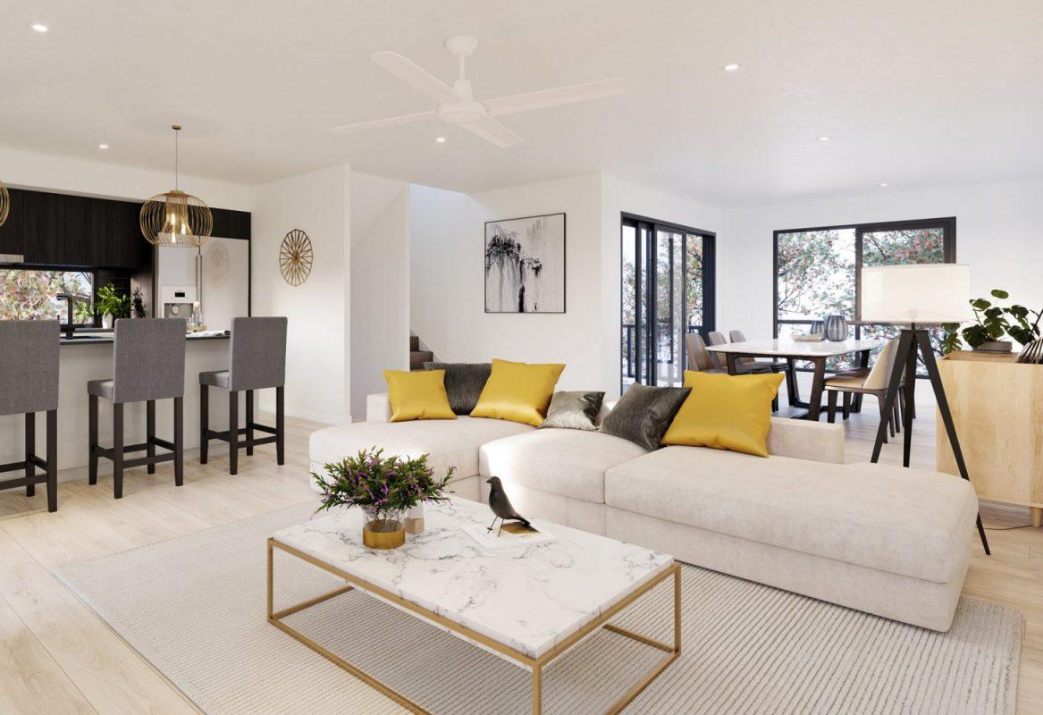 Infinity Heathwood lounge room