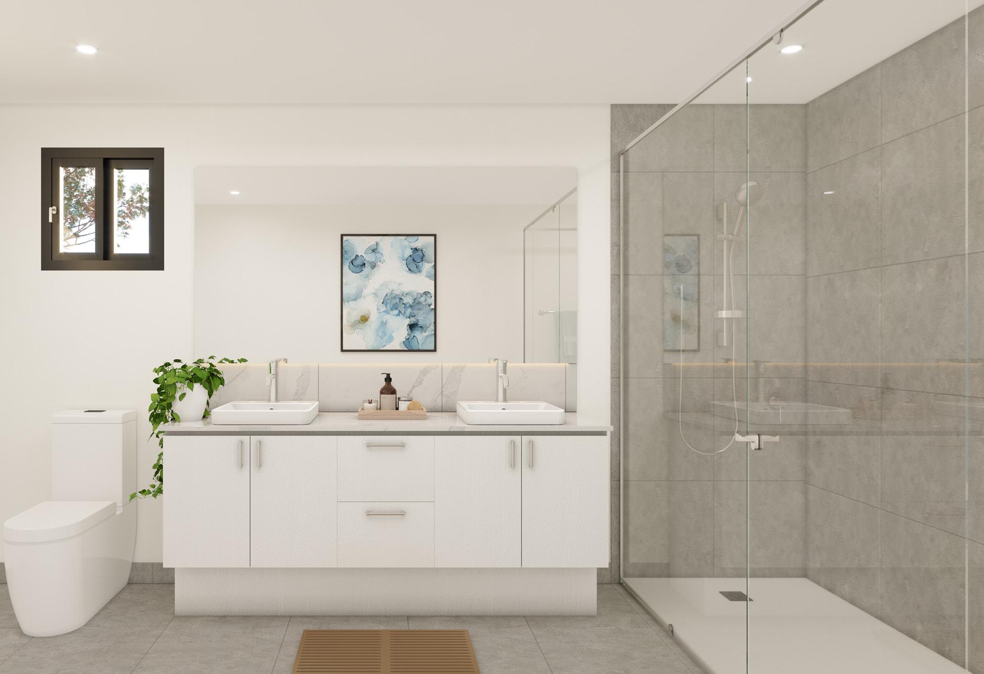 Infinity Heathwood bathroom
