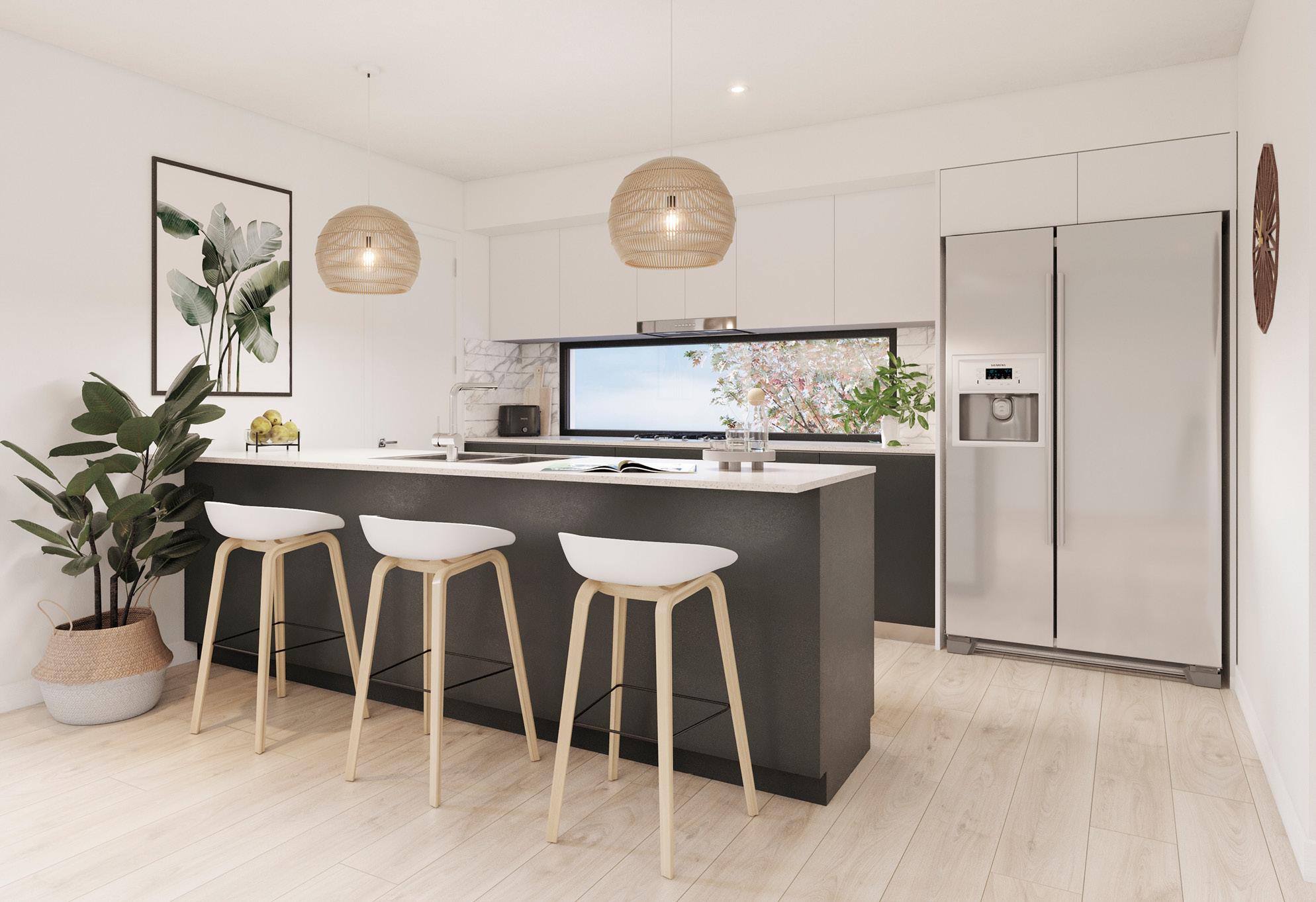 Infinity Heathwood kitchen