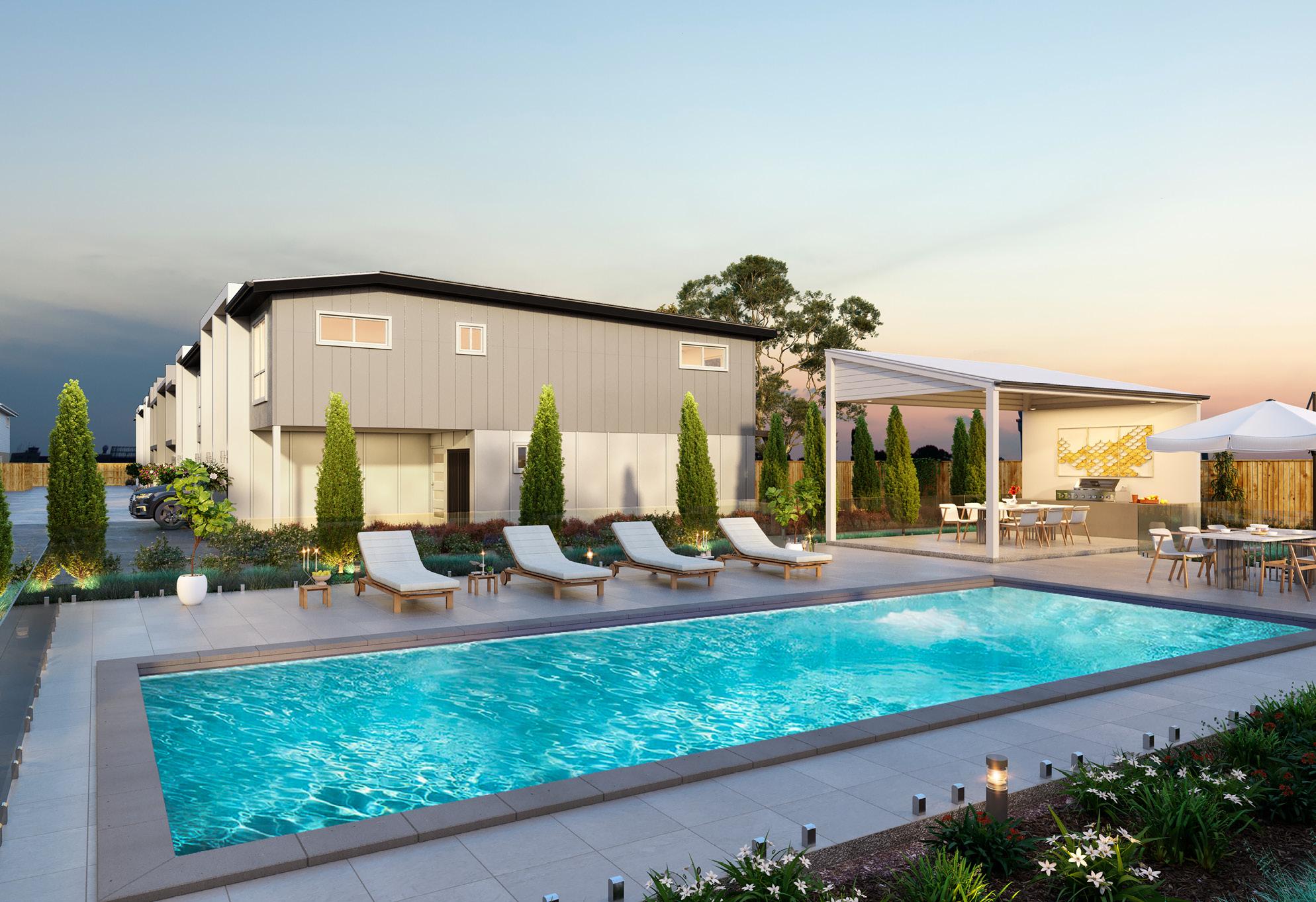 Infinity Heathwood pool