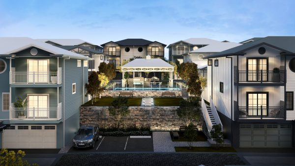 Infinity Heathwood Townhouses - Living